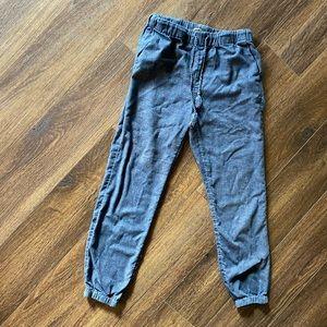 Madewell linen blend pants